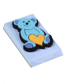 Mavi Ayıcık Bebek Çikolatası  0