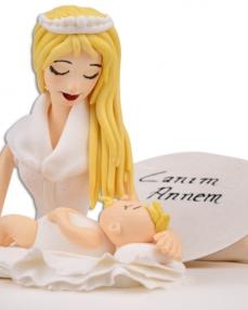 Melek Annem Anneler Günü Pastası