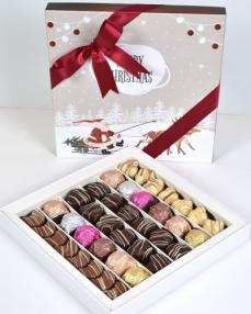 Merry Christmas Büyük Yılbaşı Çikolatası  0
