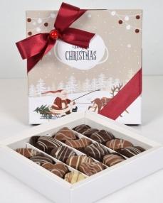 Merry Chritsmas Orta Yılbaşı Çikolatası  0