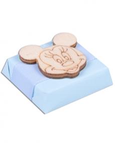 Mickey Erkek Bebek Çikolatası  0