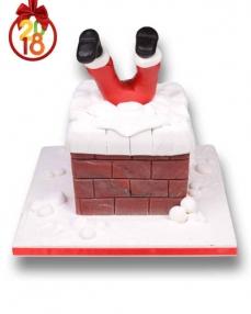 Noel Baba Bacada Yılbaşı Pastası  3