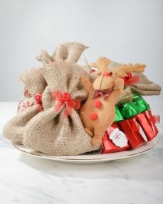 Noel Baba Çanta Yılbaşı Çikolatası  0