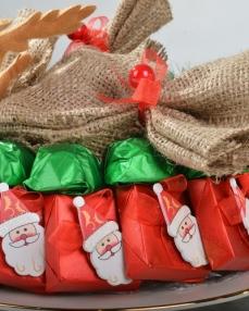 Noel Baba Çanta Yılbaşı Çikolatası  2