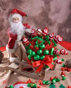 Noel Baba Yılbaşı Çikolatası  0