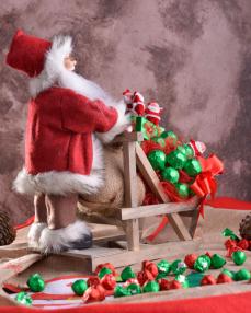 Noel Baba Yılbaşı Çikolatası  1