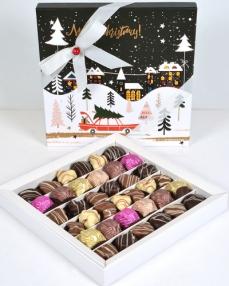 Noel Kutu Yılbaşı Çikolatası  0