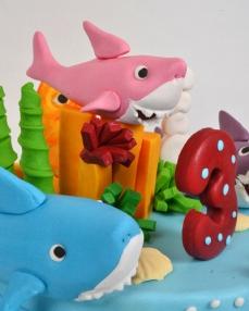 Okyanus Canlıları Pastası  1