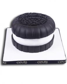 Oreo Doğum Günü Pastası  0