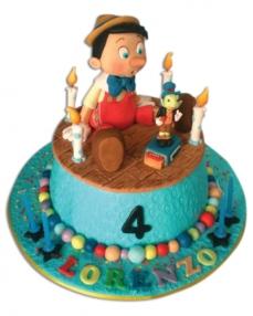 Pinokyo Doğum Günü Pastası