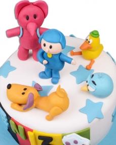 Pocoyo Doğum Günü Pastası  2