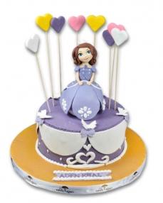 Prenses Sofia Doğum Günü Pastası  0