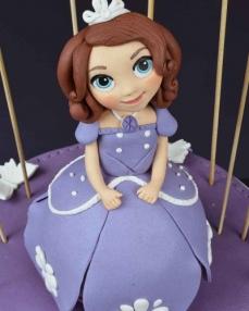 Prenses Sofia Doğum Günü Pastası  2