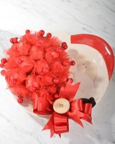 Sevimli Noel Baba Yılbaşı Çikolatası  0