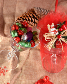 Sevimli Noel Baba Yılbaşı Çikolatası  2