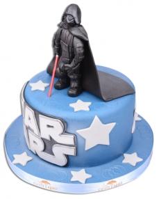 Star Wars Darth Vader Doğum Günü Pastası