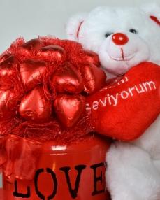 Tek İhtiyacım Aşk Sevgiliye Çikolata  1