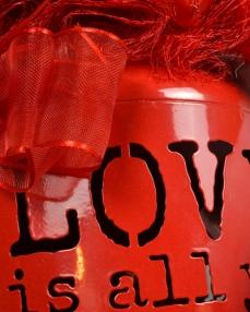 Tek İhtiyacım Aşk Sevgiliye Çikolata  2