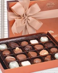 Tek Katlı Bakır Bayram Çikolatası