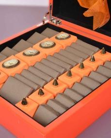 Turuncu Ahşap Special Hediyelik Çikolata