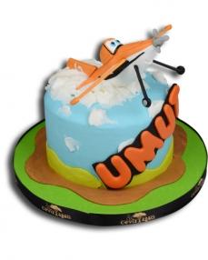 Uçaklar Doğum Günü Pastası  0