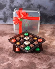 Yılbaşı Özel Tasarım Çikolata Kutusu  0