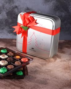 Yılbaşı Özel Tasarım Çikolata Kutusu  1