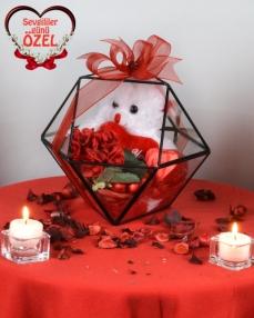 Yıldız Sevgiliye Çikolata Kutusu  0